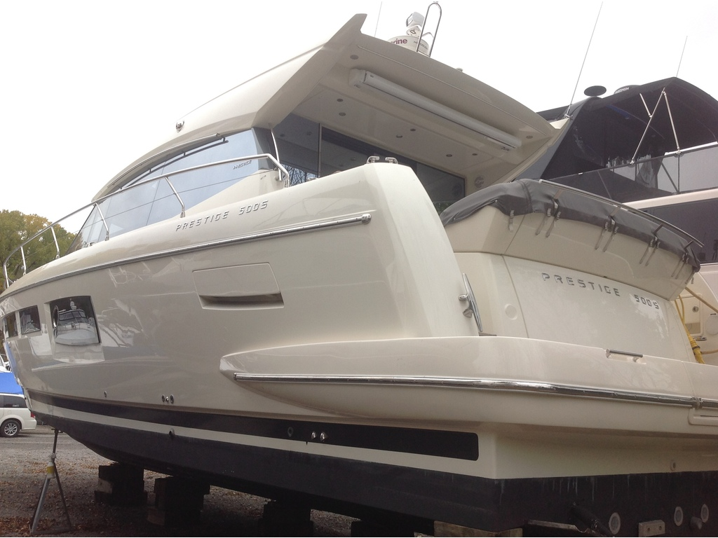 2013 Jeanneau boat for sale, model of the boat is Prestige 500 S & Image # 3 of 26
