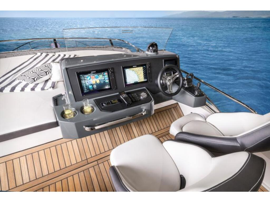 2021 Bavaria boat for sale, model of the boat is R55 Fly D8 Ips 800 Volvo & Image # 10 of 11