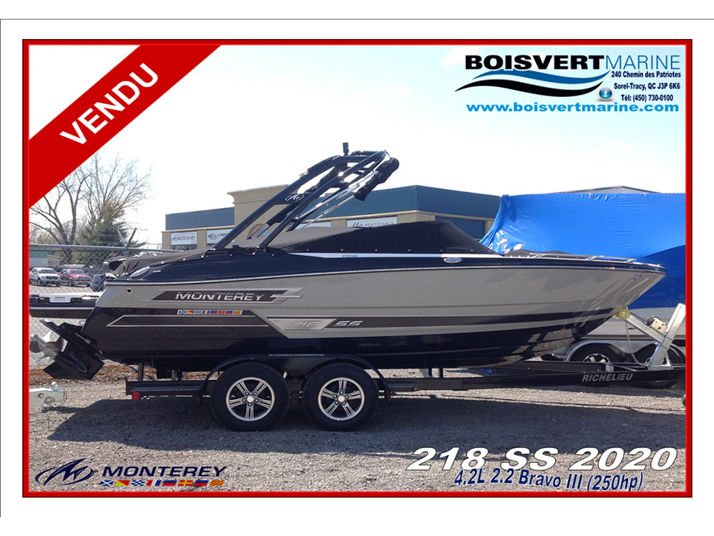 2020 Monterey boat for sale, model of the boat is 218 Ss & Image # 1 of 15
