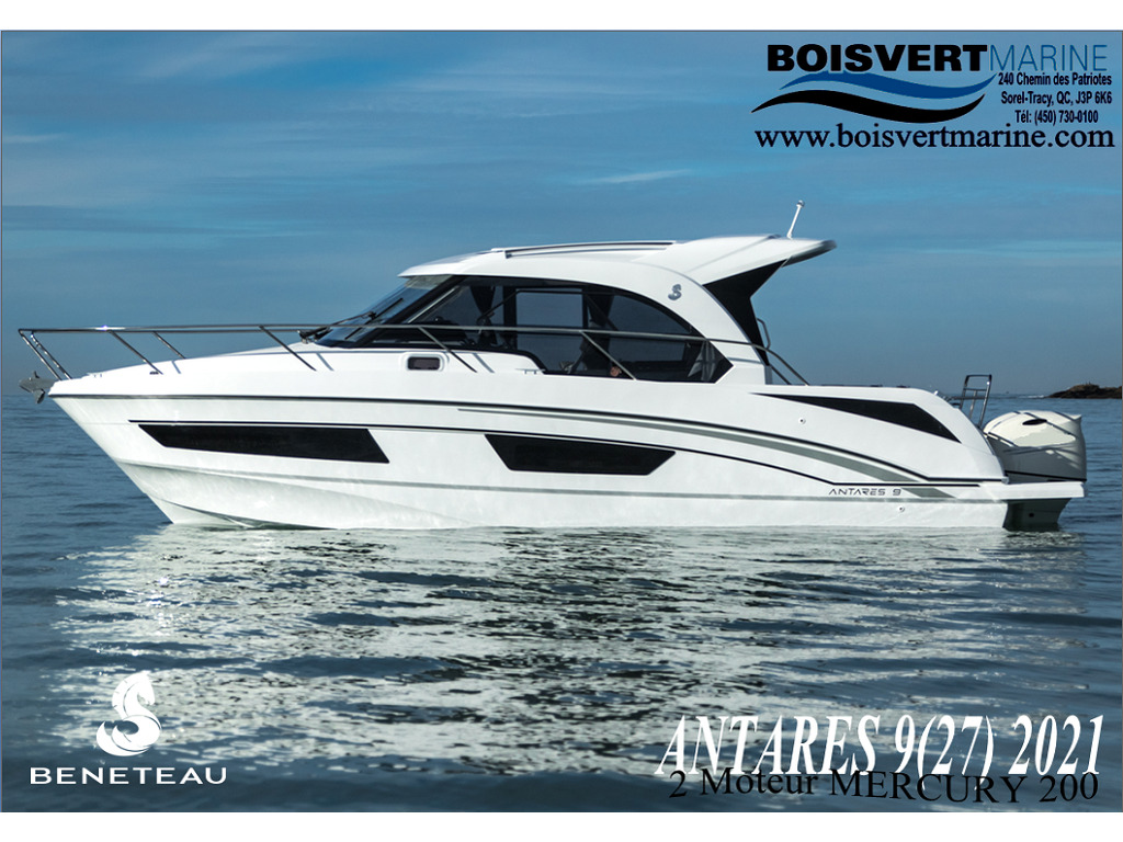 2021 Beneteau boat for sale, model of the boat is Antares 9(27) & Image # 1 of 10