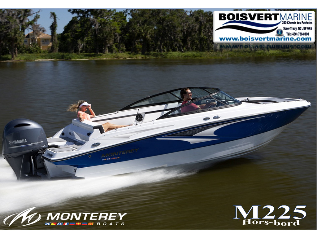 2021 Monterey boat for sale, model of the boat is M225 & Image # 1 of 4