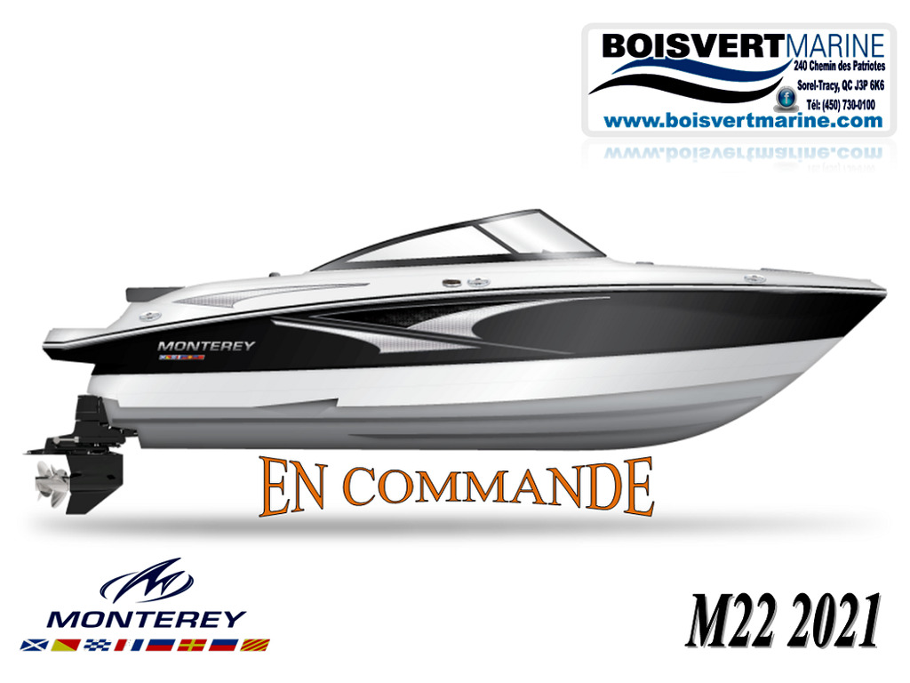 2021 Monterey boat for sale, model of the boat is M22 (en Commande) & Image # 1 of 1