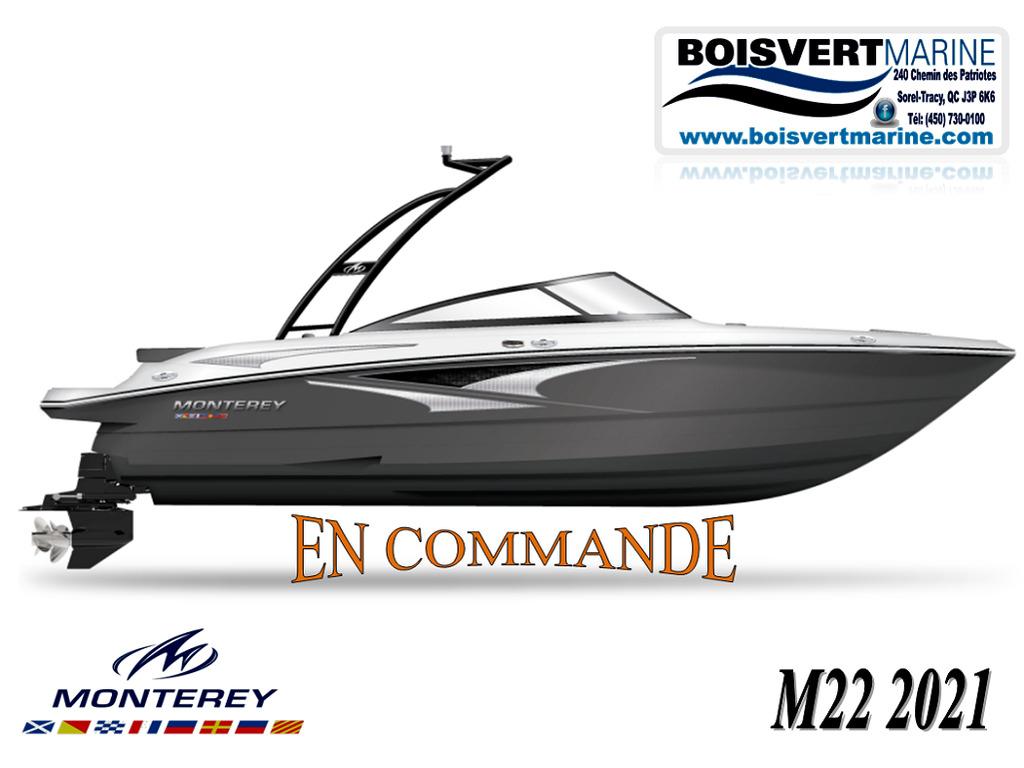 2021 Monterey boat for sale, model of the boat is M22 (en Commande) & Image # 1 of 5