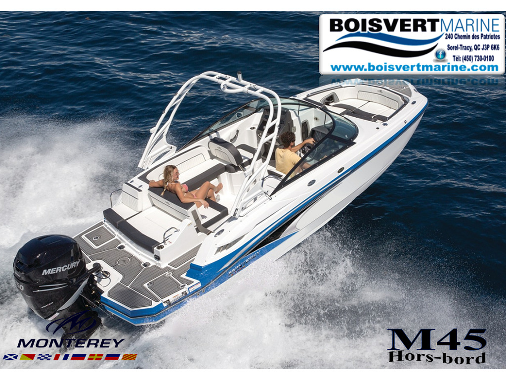 2021 Monterey boat for sale, model of the boat is M45 & Image # 1 of 5