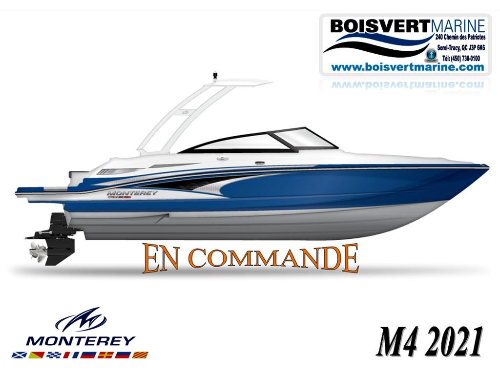 2021 Monterey boat for sale, model of the boat is M4 (en Commande) & Image # 1 of 1