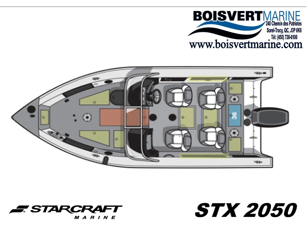 2021 Starcraft boat for sale, model of the boat is 2050 & Image # 2 of 3