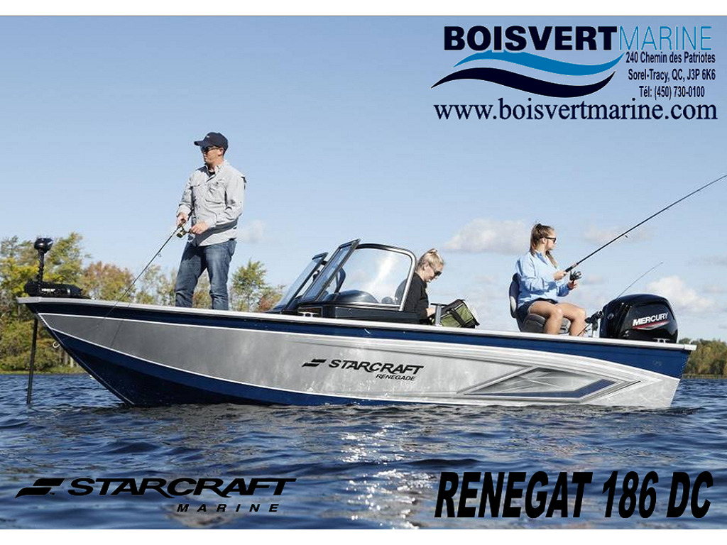 2021 Starcraft boat for sale, model of the boat is Renegade 186 Dc & Image # 1 of 5