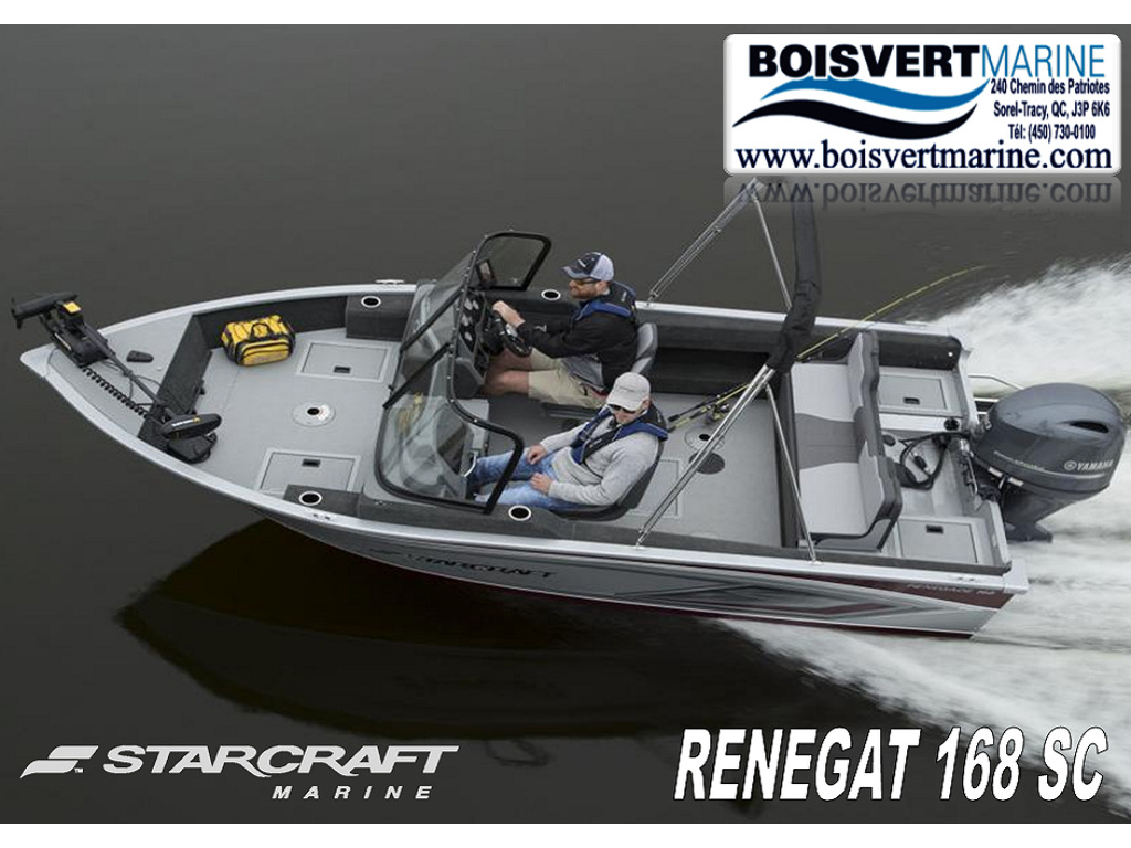 2021 Starcraft boat for sale, model of the boat is Renegade 168 Dc & Image # 1 of 12