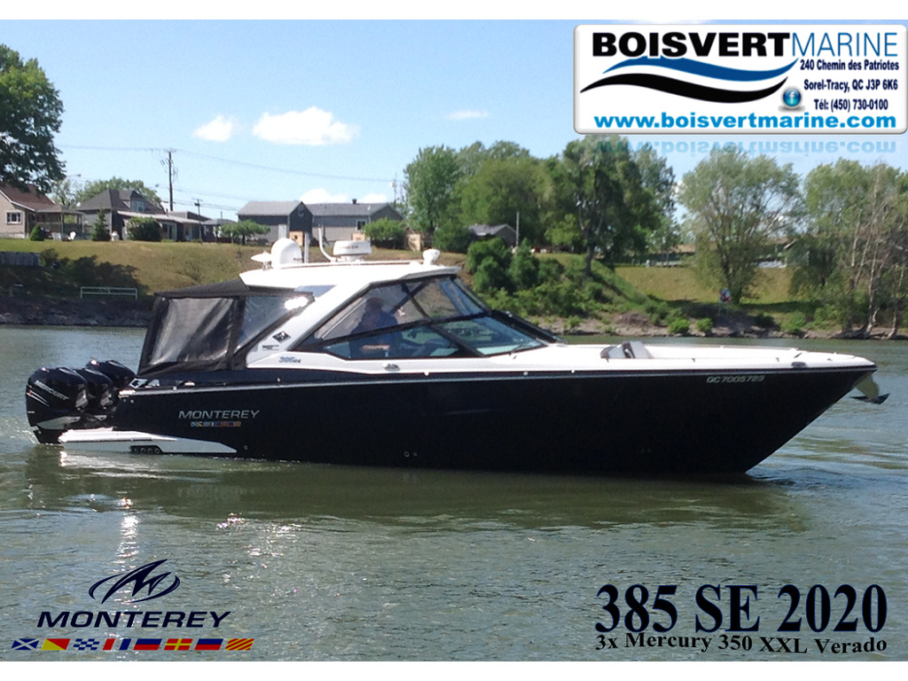 2020 Monterey boat for sale, model of the boat is 385 Ss & Image # 1 of 24