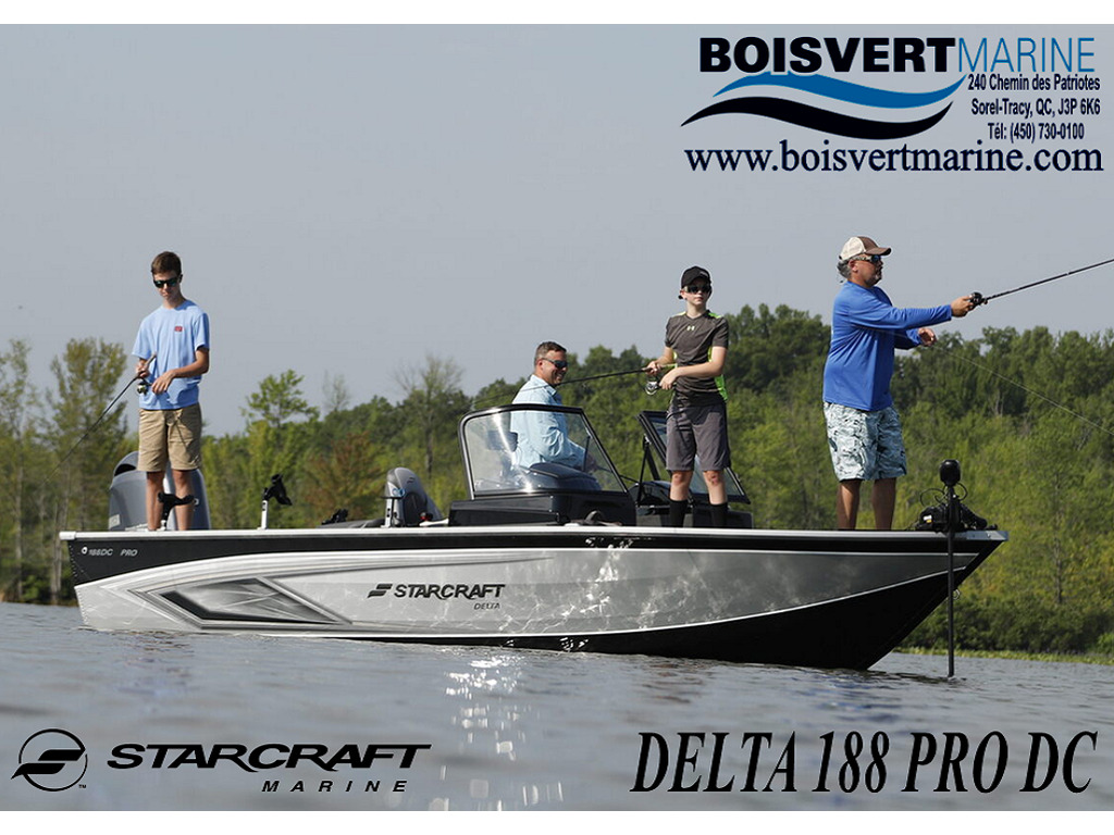 2021 Starcraft boat for sale, model of the boat is Delta Pro Dc & Image # 1 of 11
