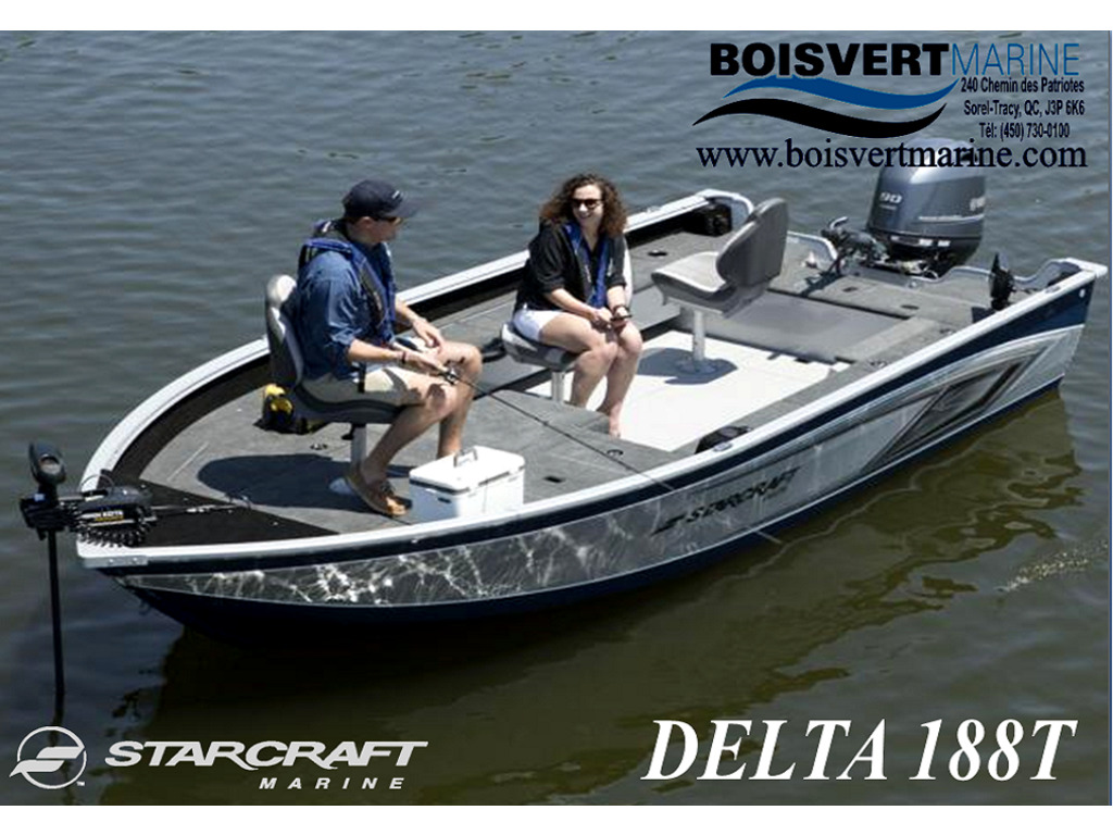 2021 Starcraft boat for sale, model of the boat is Delta 188t & Image # 1 of 8