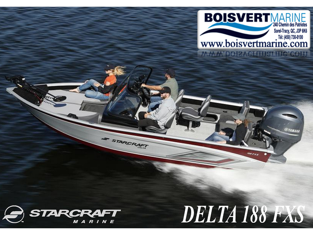 2021 Starcraft boat for sale, model of the boat is Delta 188 Fxs & Image # 1 of 10