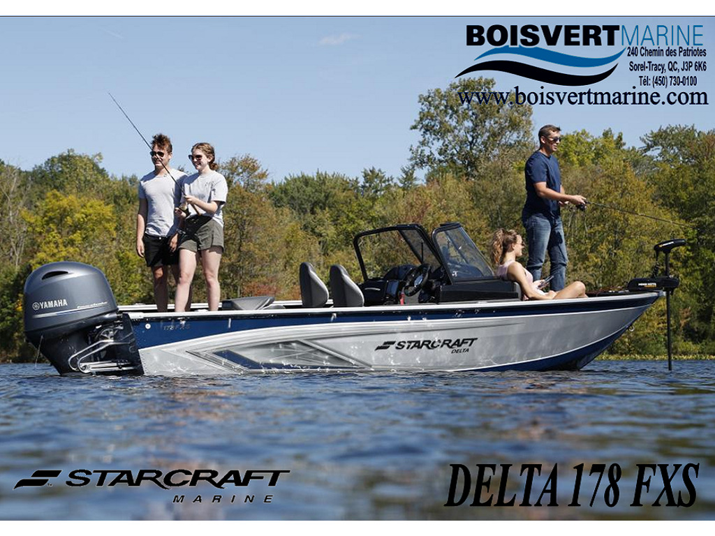 2021 Starcraft boat for sale, model of the boat is Delta 178 Fxs & Image # 1 of 9
