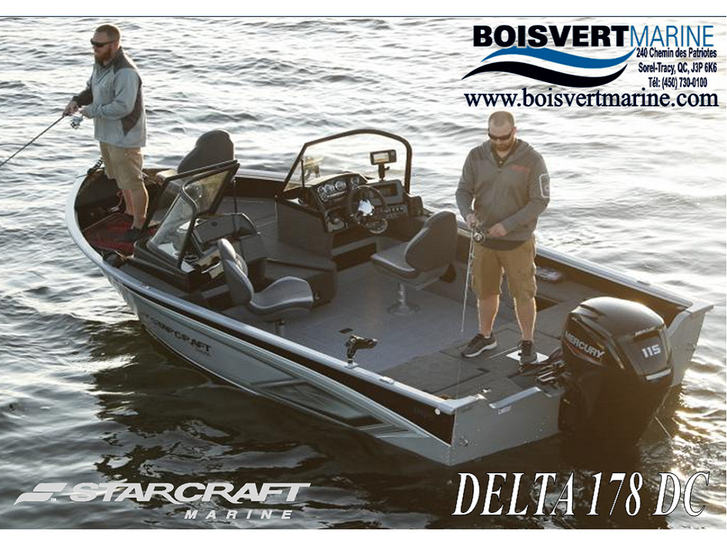 2021 Starcraft boat for sale, model of the boat is Delta 178 Dc & Image # 1 of 10