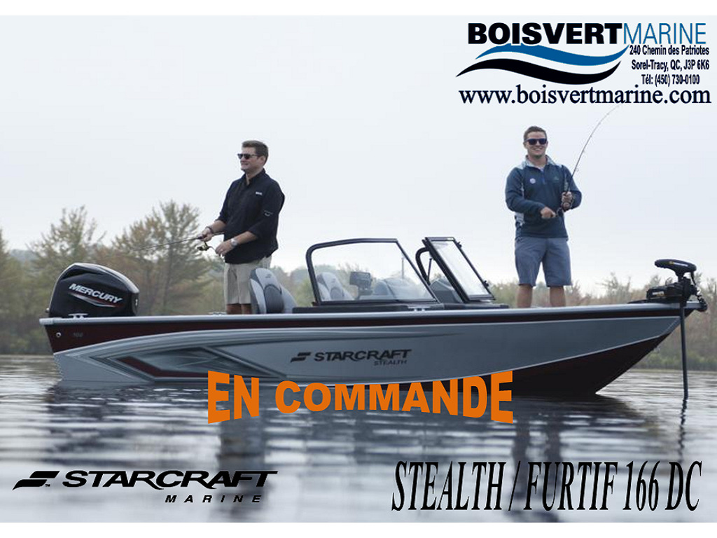 2021 Starcraft boat for sale, model of the boat is Stealth-furtif166 Dc & Image # 1 of 6