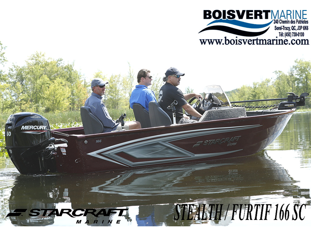 2021 Starcraft boat for sale, model of the boat is Stealth / Furtif 166 Sc & Image # 1 of 9
