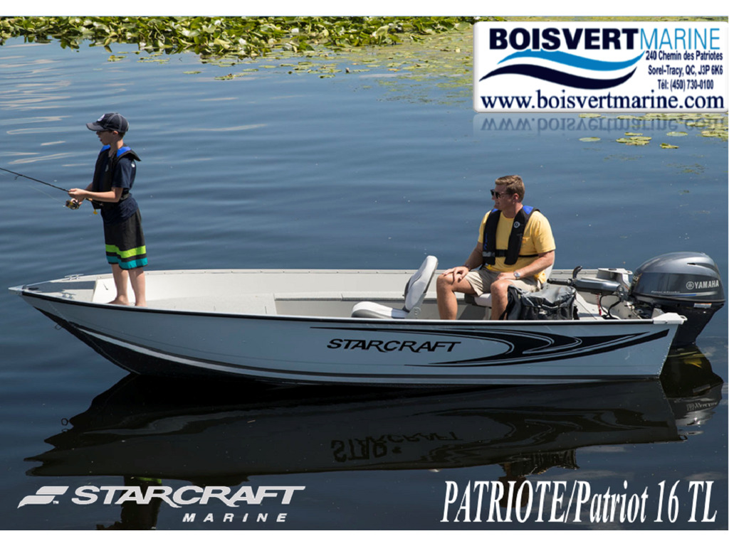 2021 Starcraft boat for sale, model of the boat is Patriote 16 Tl & Image # 1 of 6