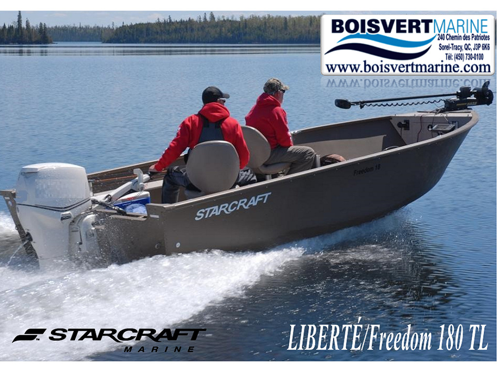 2021 Starcraft boat for sale, model of the boat is LibertÉ/freedom 180 Tl & Image # 1 of 1