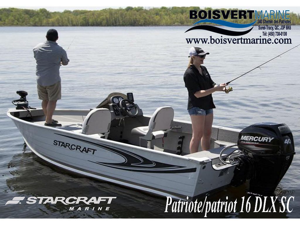 2021 Starcraft boat for sale, model of the boat is Patriote/patriot 16 Dlx Sc & Image # 1 of 7