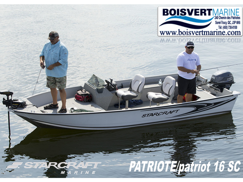 2021 Starcraft boat for sale, model of the boat is Patriote/patriot 16 Sc  & Image # 1 of 9