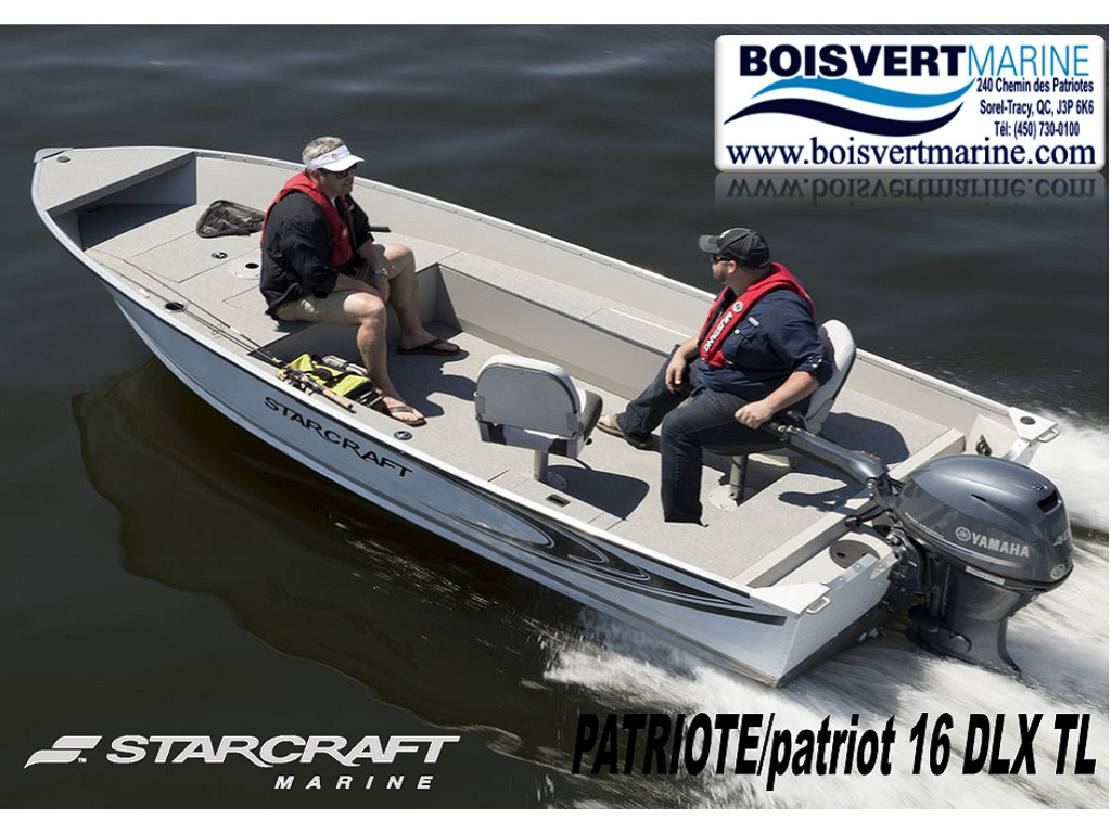 2021 Starcraft boat for sale, model of the boat is Patriote/patriot 16 Dlx Tl & Image # 1 of 5
