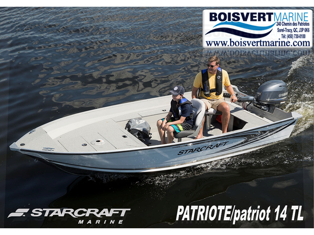 2021 Starcraft boat for sale, model of the boat is Patriote/patriot 14 Tl & Image # 1 of 5