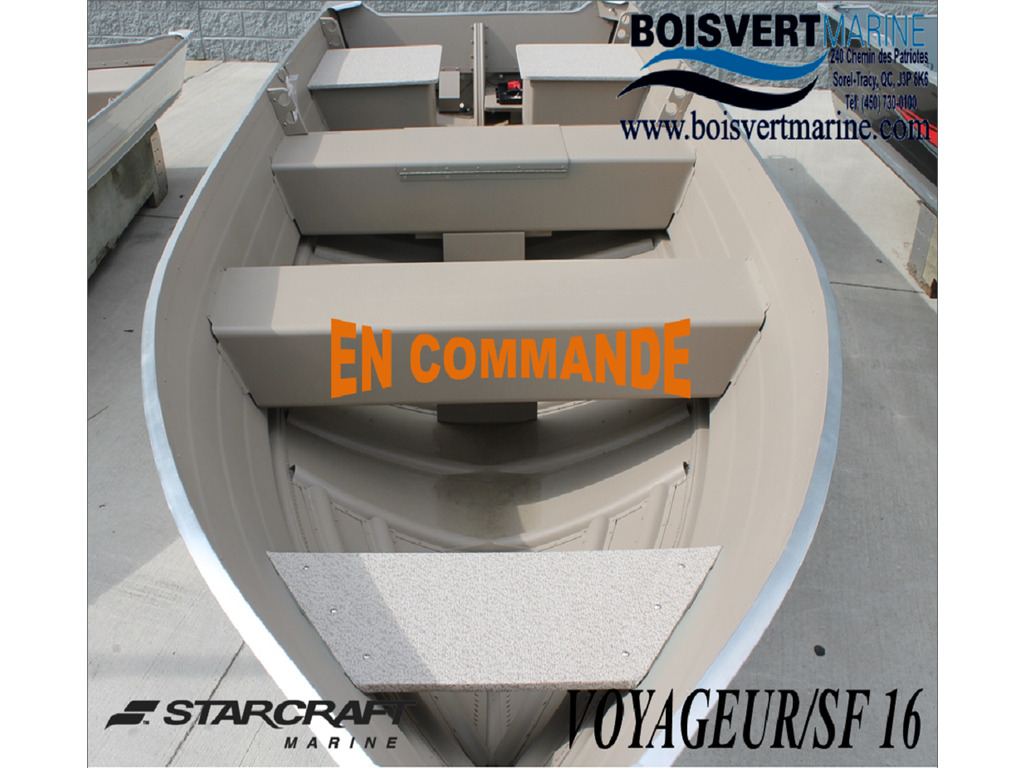 2021 Starcraft boat for sale, model of the boat is Voyager/sf 16tl & Image # 1 of 3