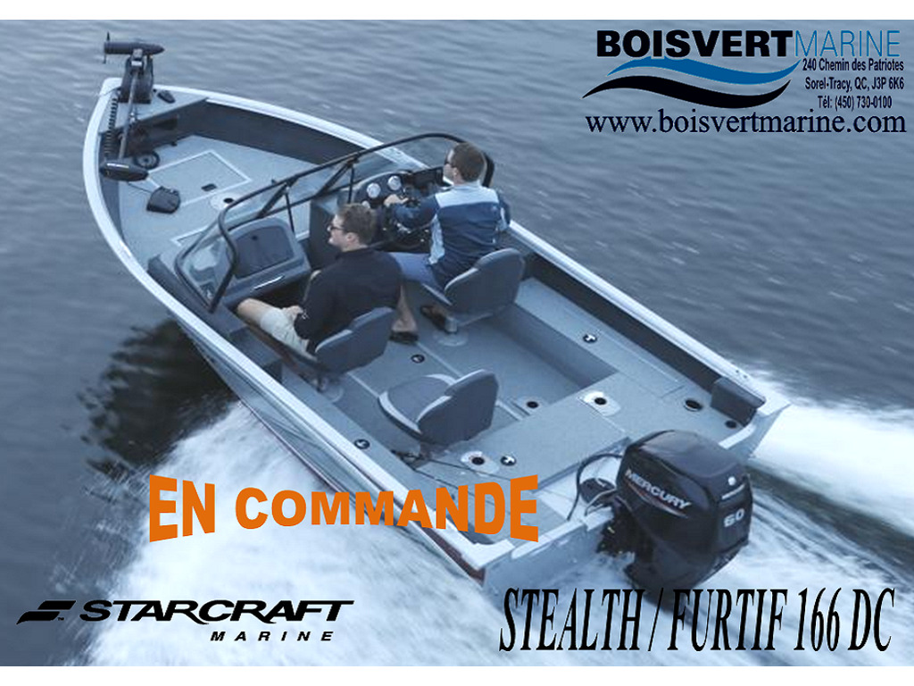 2021 Starcraft boat for sale, model of the boat is Stealth/furtif 166 Dc  & Image # 1 of 6