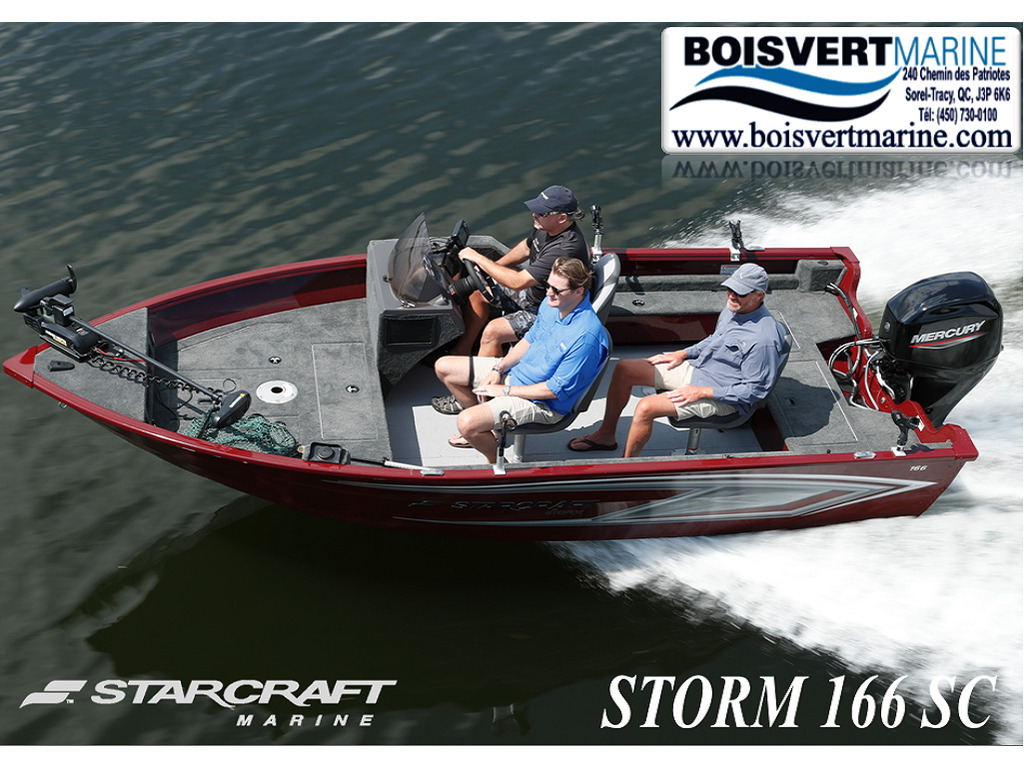 2021 Starcraft boat for sale, model of the boat is Storm 166 Sc  & Image # 1 of 9