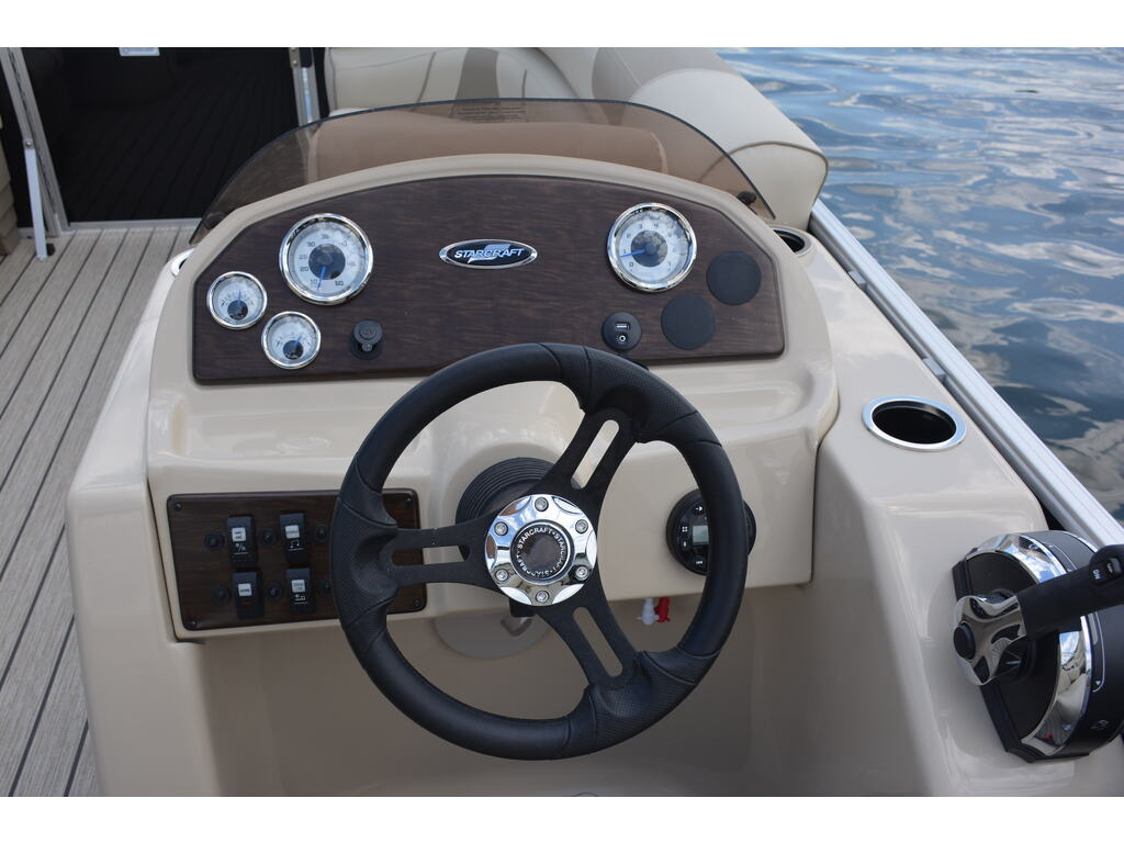 2021 Starcraft boat for sale, model of the boat is Ponton Ex 22 Q & Image # 3 of 9