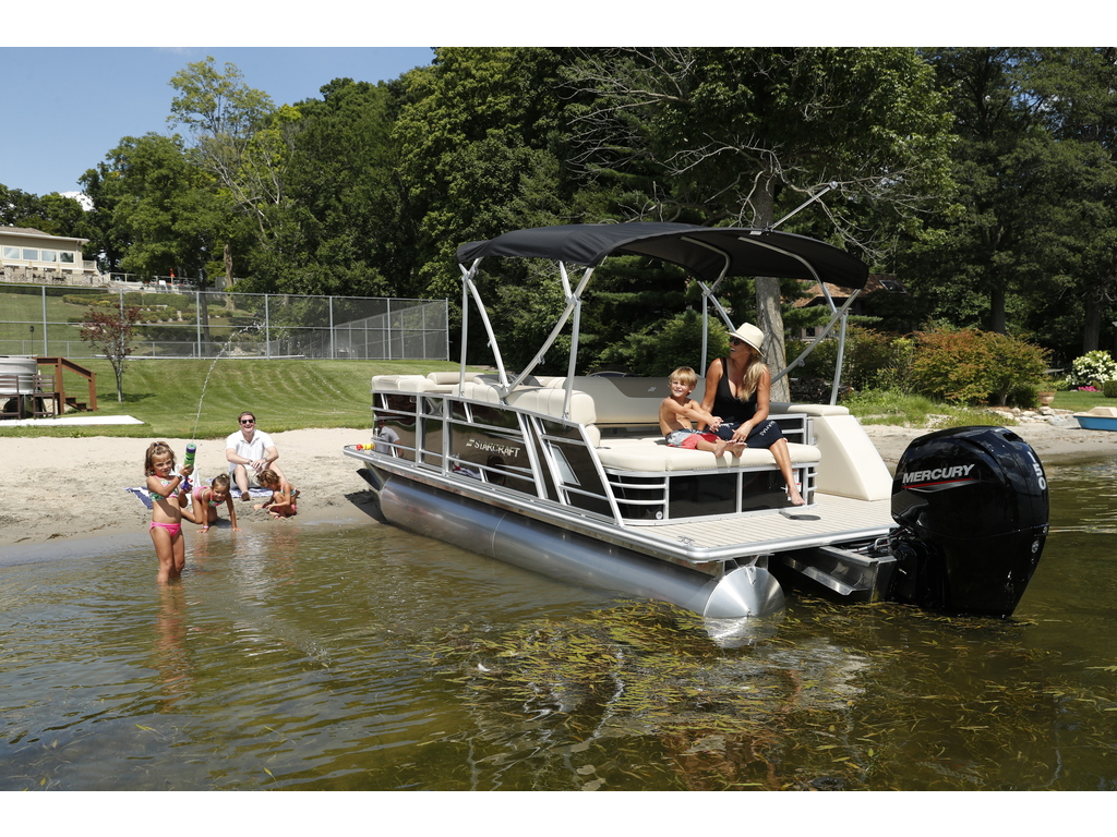 2021 Starcraft boat for sale, model of the boat is Ponton Ex 22 Q & Image # 9 of 9