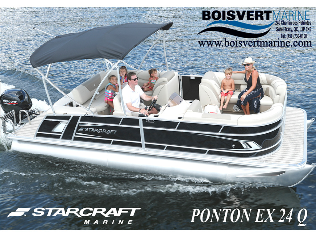 2021 Starcraft boat for sale, model of the boat is Ponton Ex 24 Q & Image # 1 of 9