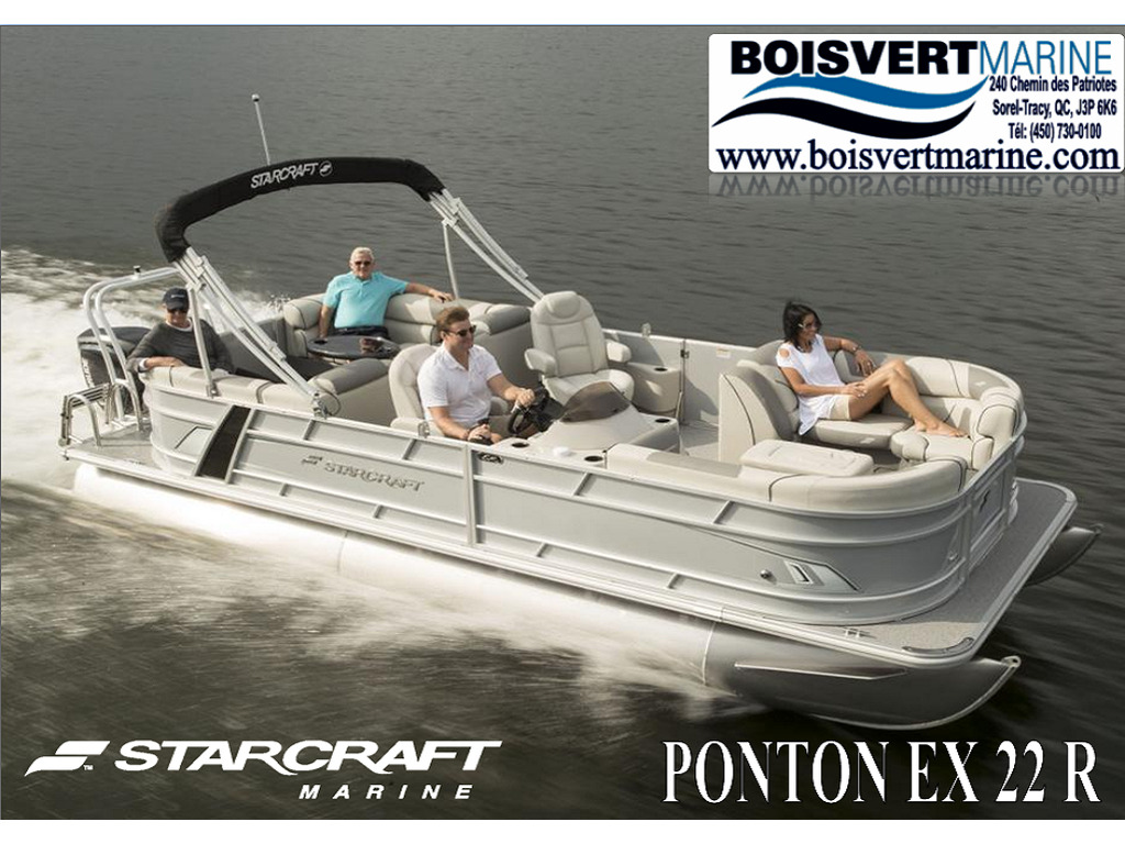 2021 Starcraft boat for sale, model of the boat is Ponton Ex 22 R  & Image # 1 of 5