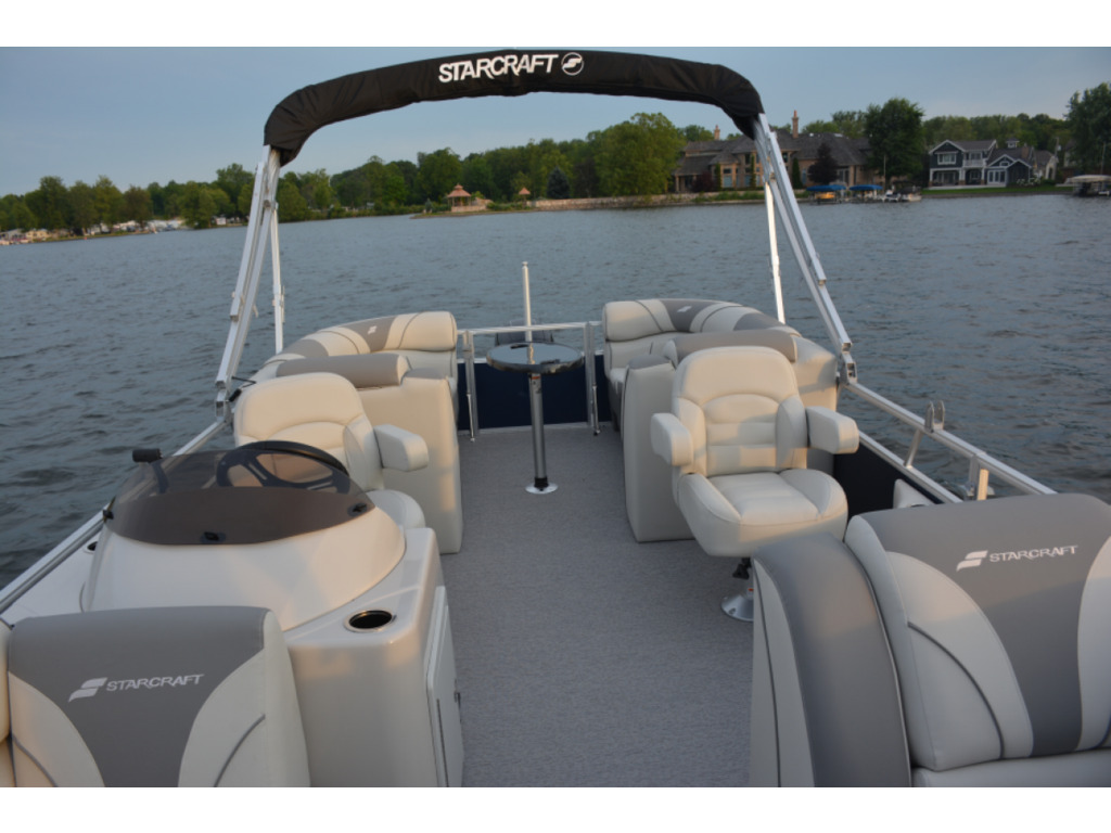 2021 Starcraft boat for sale, model of the boat is Ponton Ex 22 R  & Image # 3 of 5
