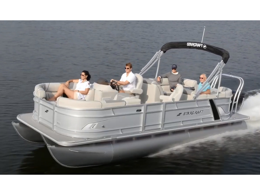 2021 Starcraft boat for sale, model of the boat is Ponton Ex 22 R  & Image # 2 of 5
