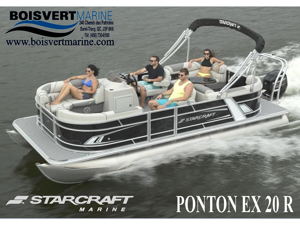 2021 Starcraft boat for sale, model of the boat is Ponton Ex 20 R  & Image # 1 of 5