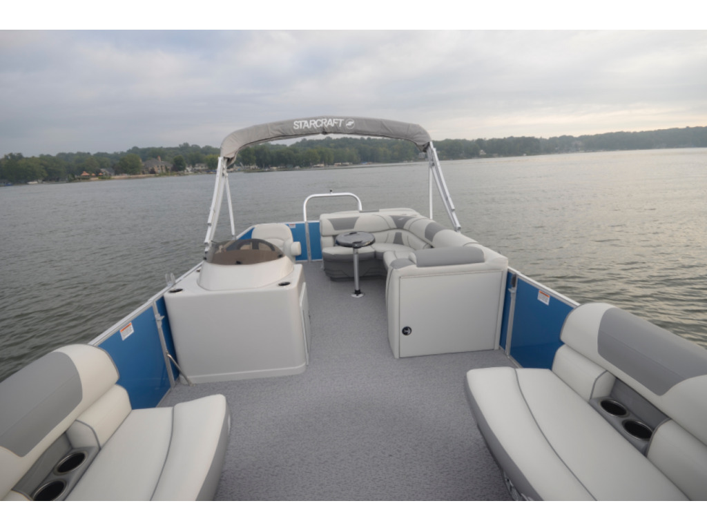 2021 Starcraft boat for sale, model of the boat is Ponton Ex 22 Csg & Image # 5 of 6