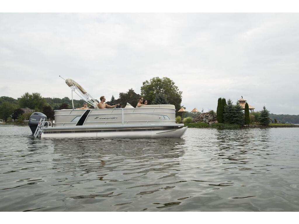 2021 Starcraft boat for sale, model of the boat is Ponton Ex 20 C & Image # 2 of 5