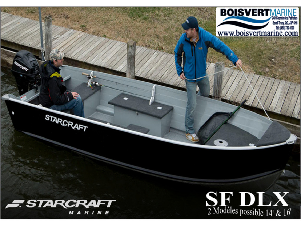 2021 Starcraft boat for sale, model of the boat is Sf Dlx 16 & Image # 1 of 7