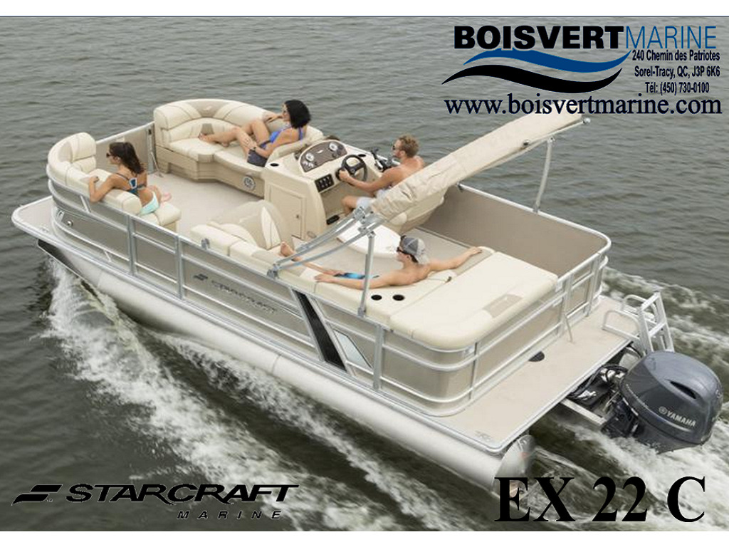 2021 Starcraft boat for sale, model of the boat is Ponton Ex 22 C & Image # 1 of 4
