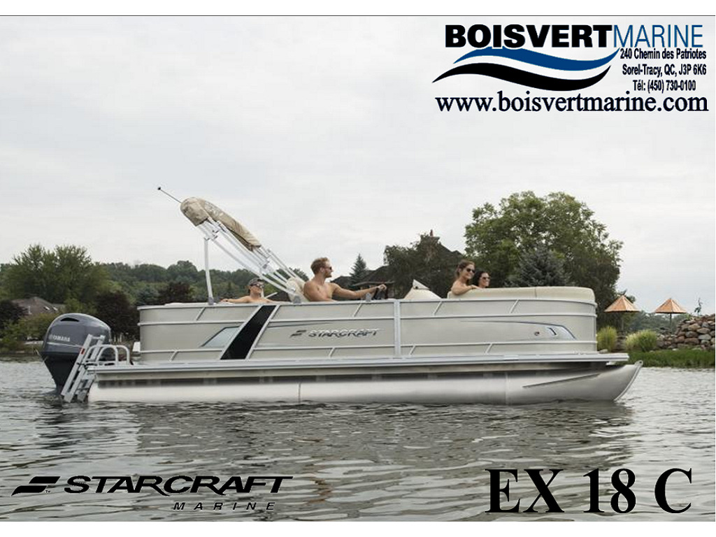 2021 Starcraft boat for sale, model of the boat is Ponton Ex 18 C & Image # 1 of 4