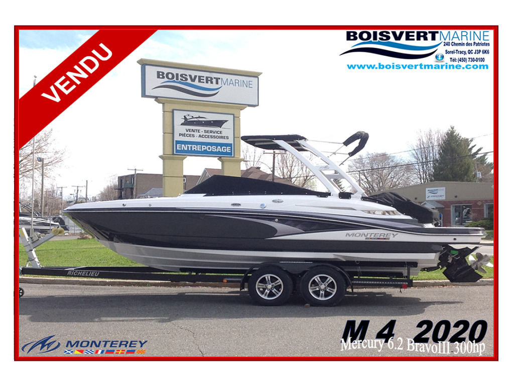 2020 Monterey boat for sale, model of the boat is M4 & Image # 1 of 16