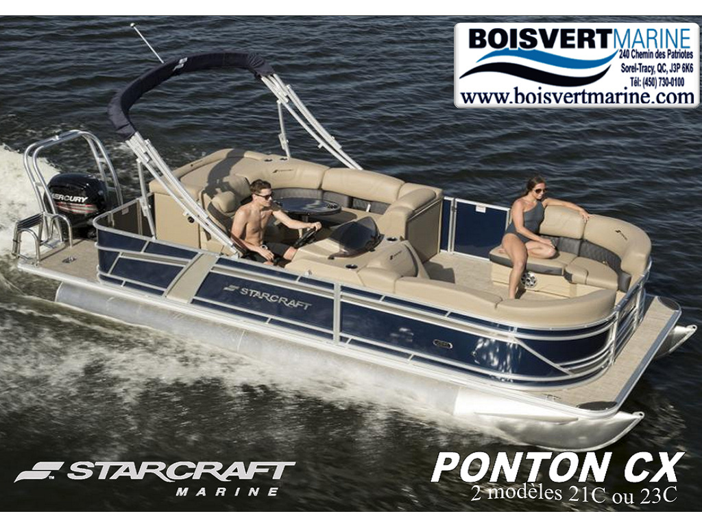 2021 Starcraft boat for sale, model of the boat is Ponton Cx  & Image # 1 of 9