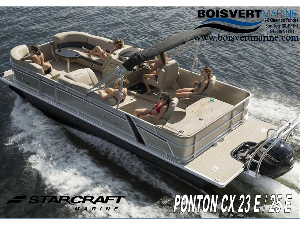 2021 Starcraft boat for sale, model of the boat is Ponton Cx E & Image # 1 of 2