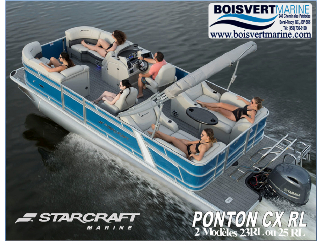 2021 Starcraft boat for sale, model of the boat is Ponton Cx Rl  & Image # 1 of 11
