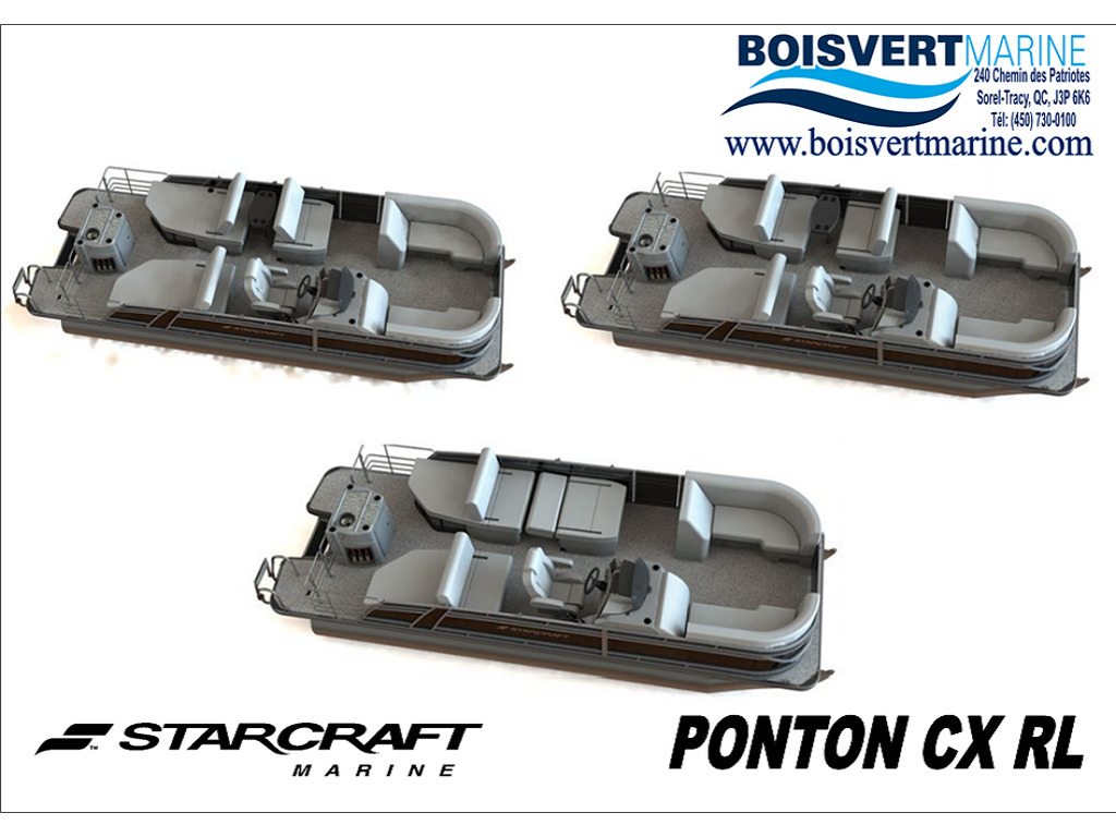 2021 Starcraft boat for sale, model of the boat is Ponton Cx Rl  & Image # 2 of 11