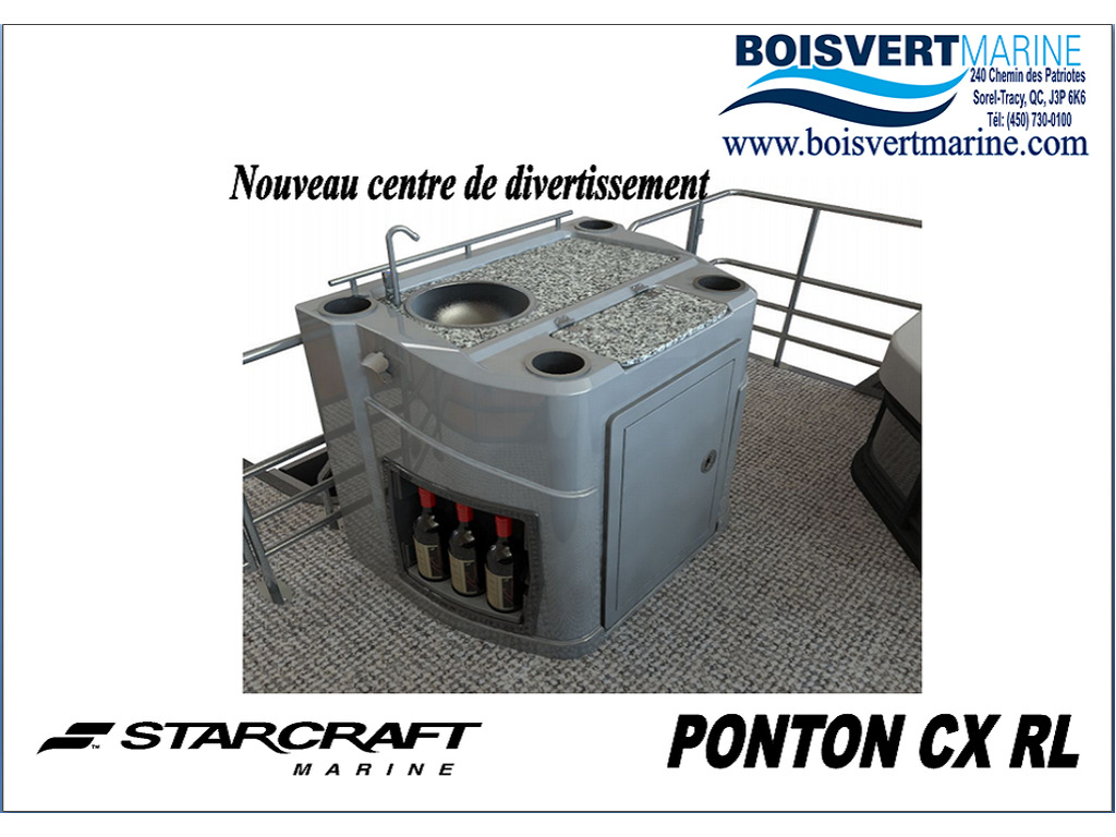 2021 Starcraft boat for sale, model of the boat is Ponton Cx Rl  & Image # 3 of 11