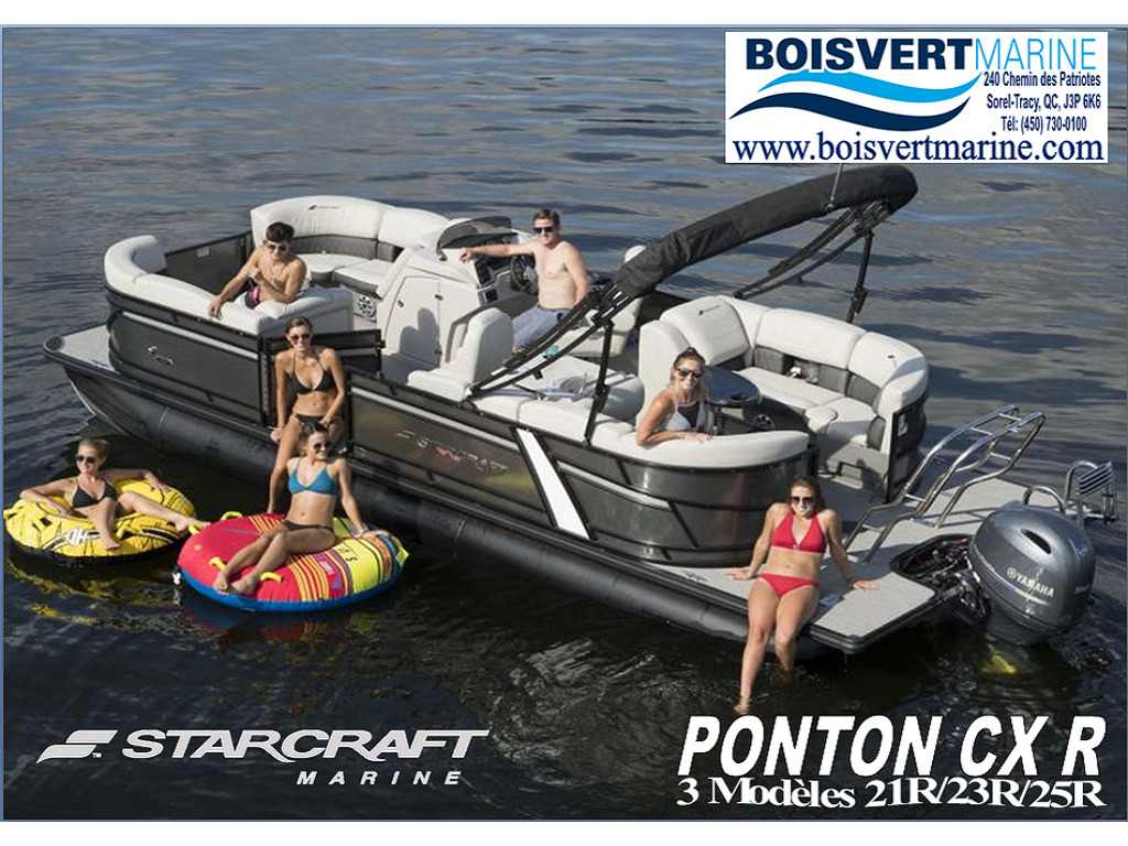 2021 Starcraft boat for sale, model of the boat is Ponton Cx R & Image # 1 of 8