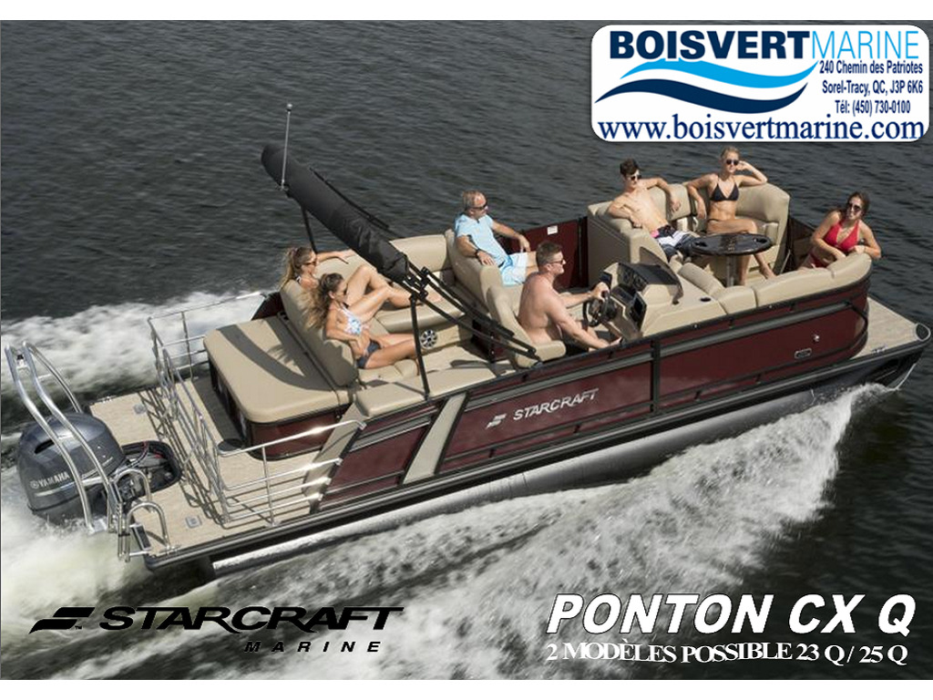 2021 Starcraft boat for sale, model of the boat is Ponton Cx Q & Image # 1 of 11
