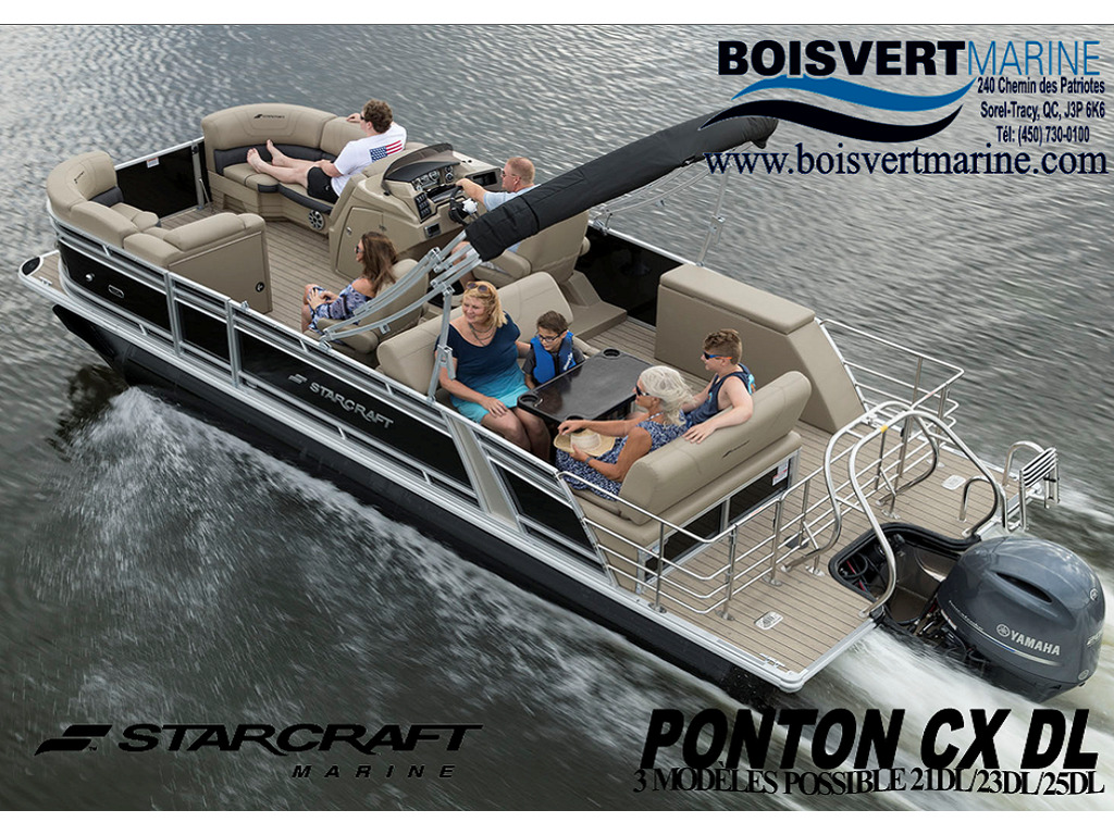 2021 Starcraft boat for sale, model of the boat is Ponton Cx Dl & Image # 1 of 10